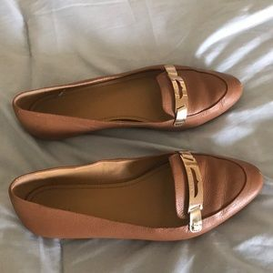 COACH RUTHIE LEATHERS LOAFERS sz7.5